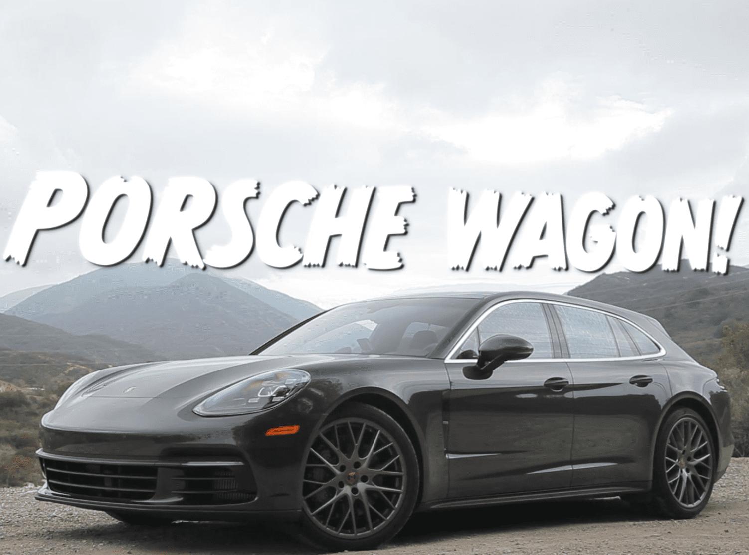 Porsche Panamera Sport Turismo 4S