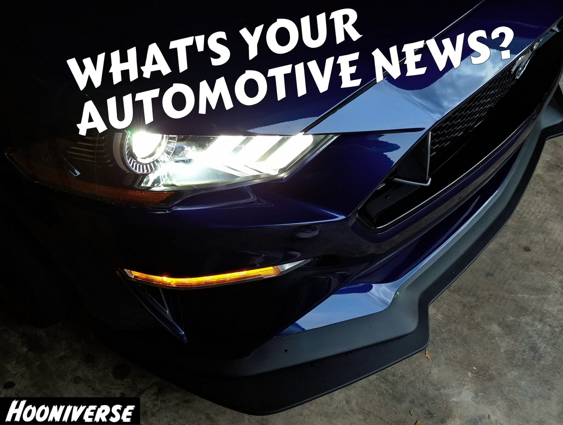 hooniverse whats your automotive news