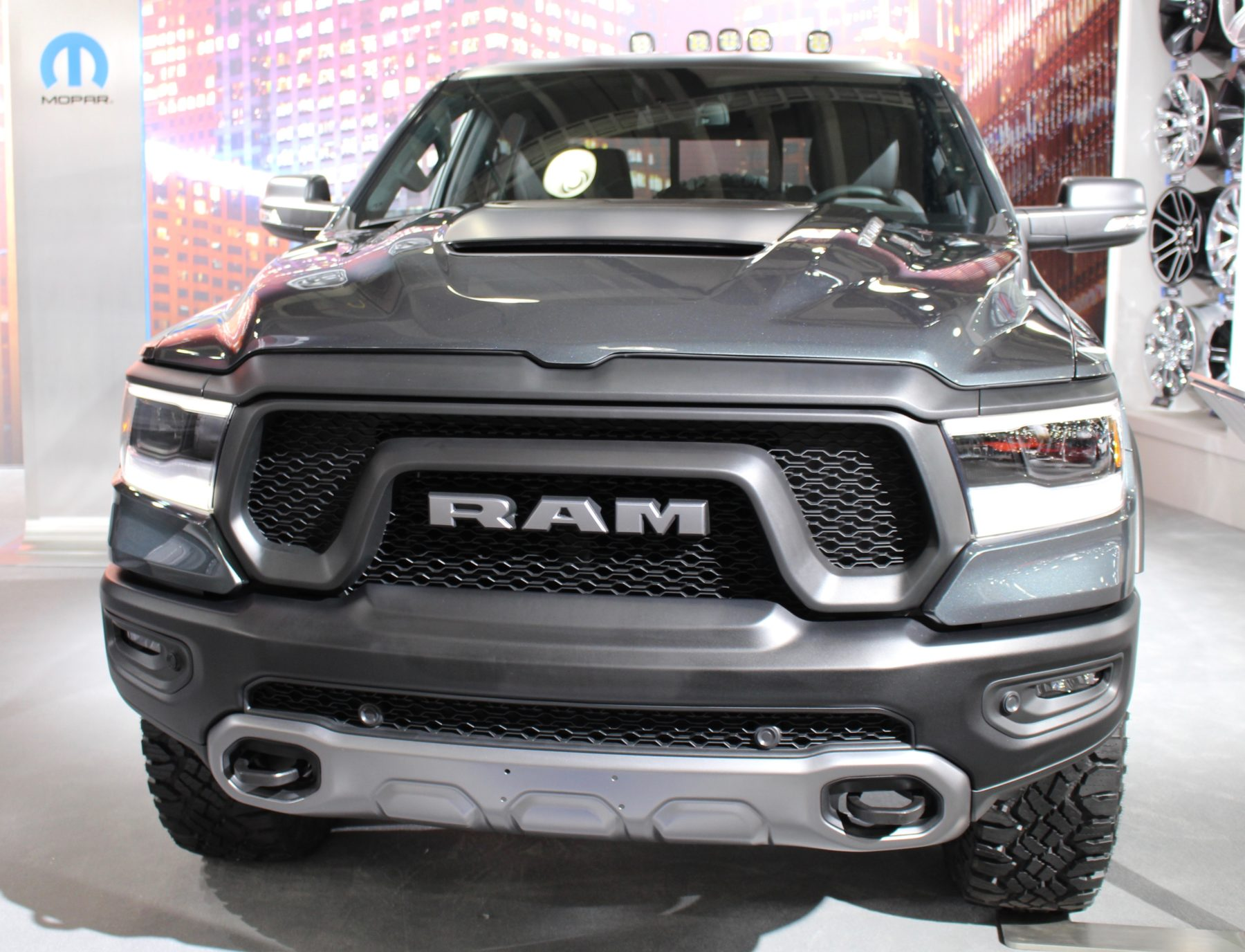 Ram 1500 with Mopar parts