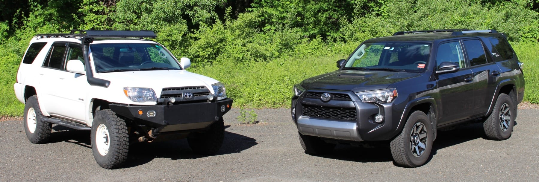 Comparison 4th Gen And 5th Gen Toyota 4runners Hooniverse