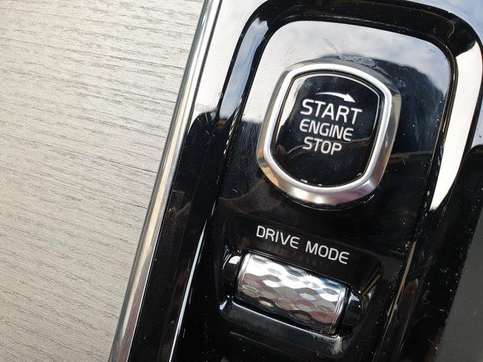 Volvo S60 engine start knob