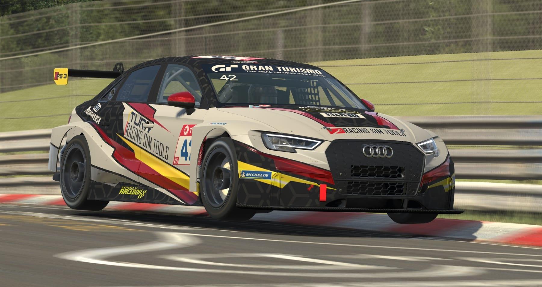 iRacing nurburgring TCR