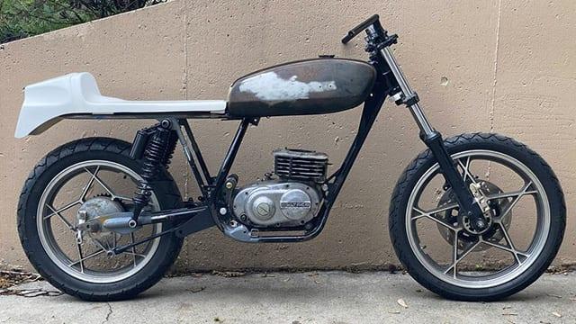 Bultaco project bike