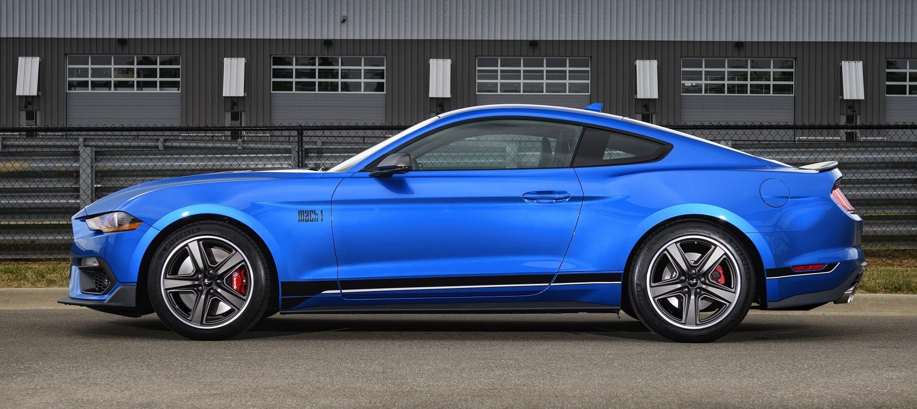 2021 Mustang Mach 1