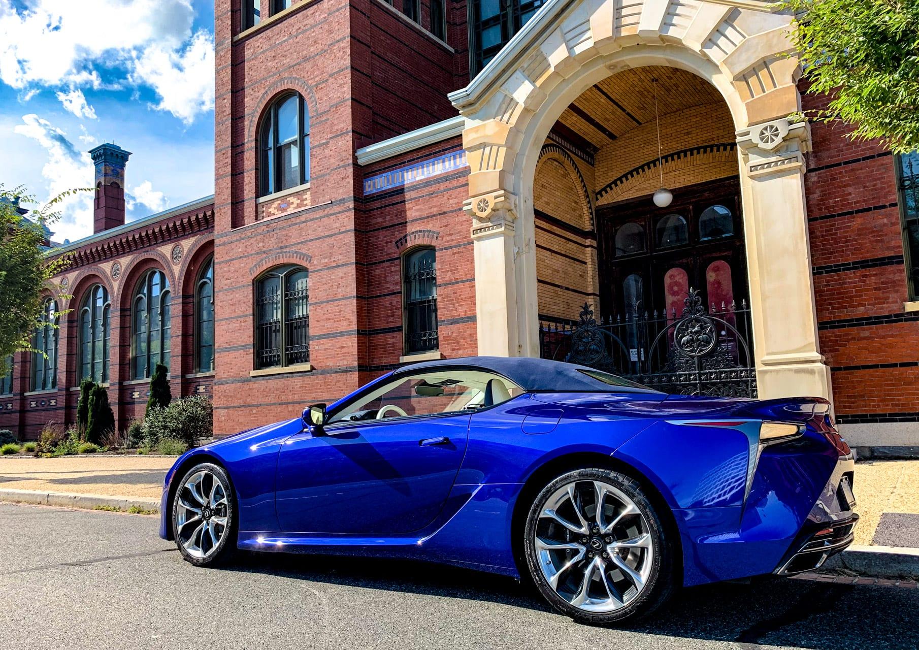 2021 Lexus LC 500 Convertible Inspiration Series