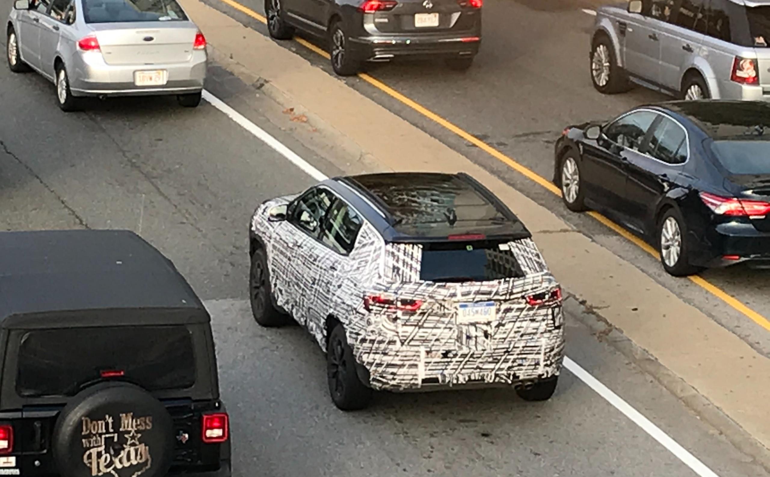 2022 jeep compass spy hybrid