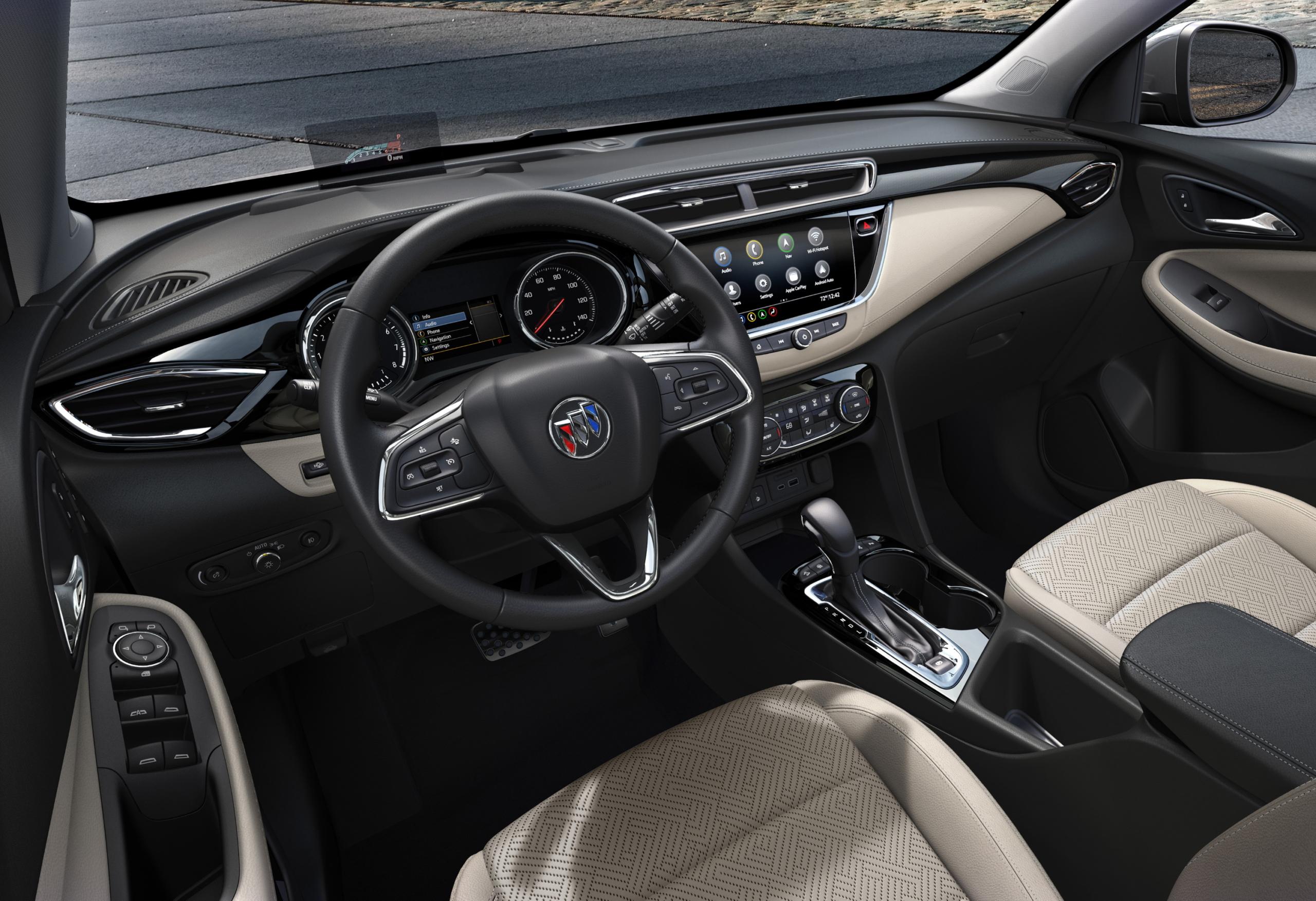 2020 Buick Encore GX dash