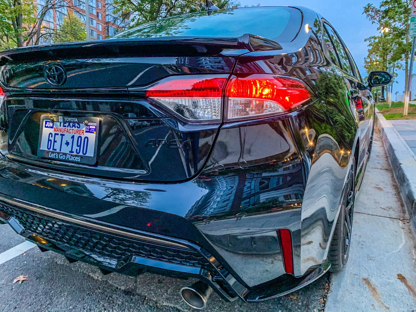 2021 Toyota Corolla Apex