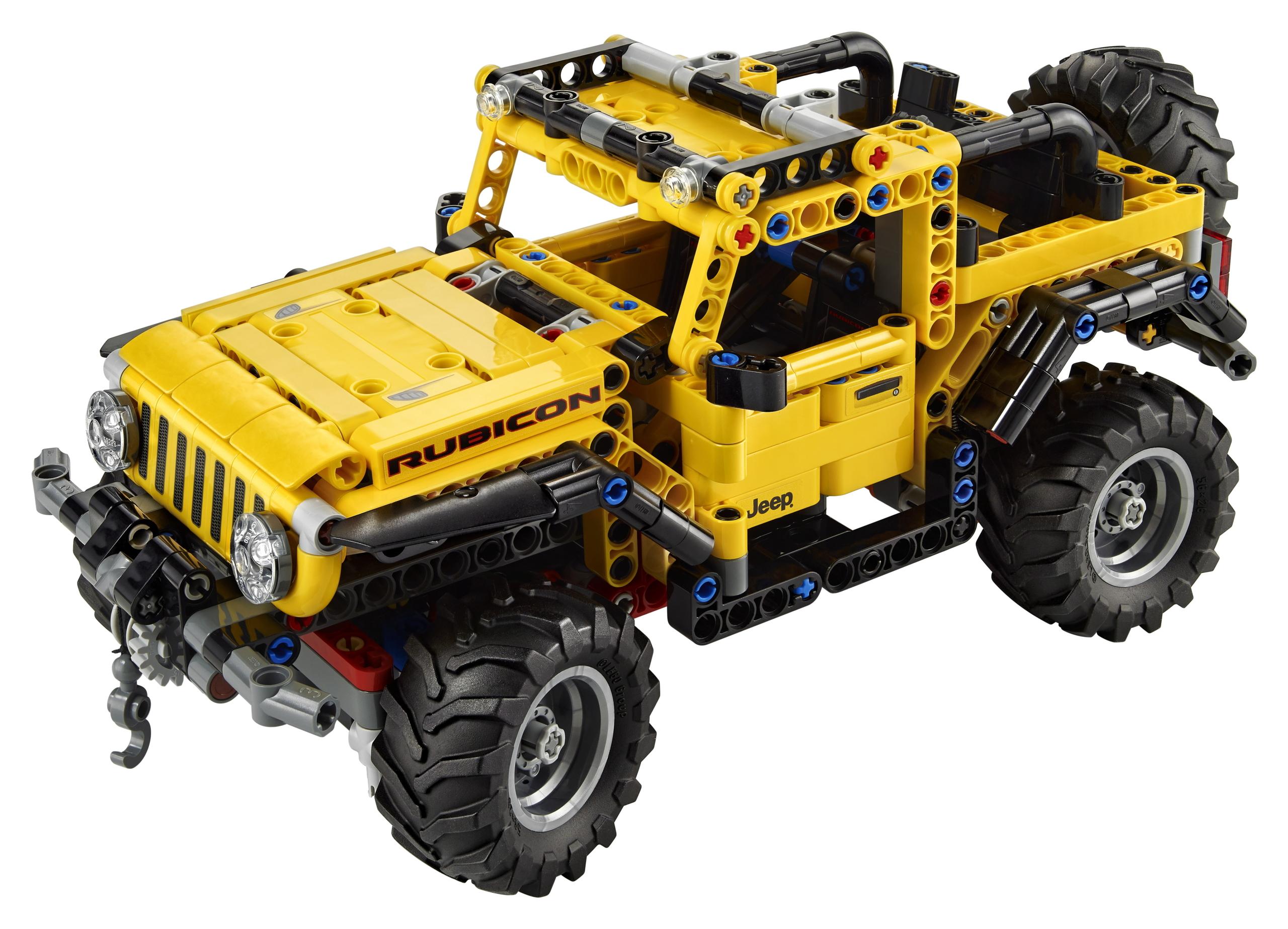 jeep wrangler technic lego