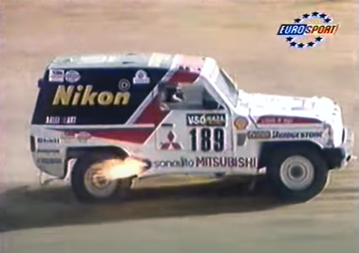 Mitsubishi Pajero Paris-Dakar Rally History