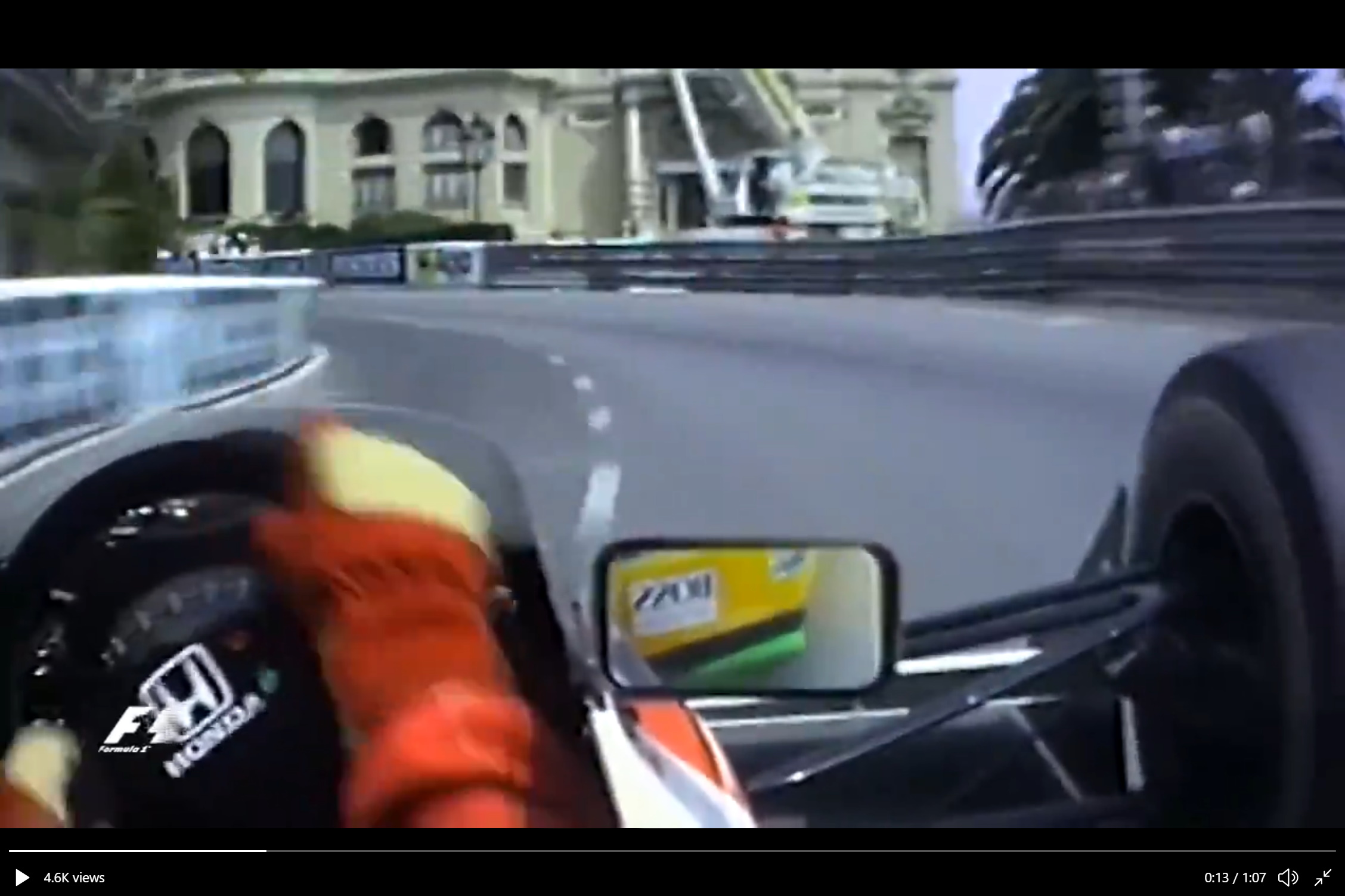 senna monaco 1990 enhanced video