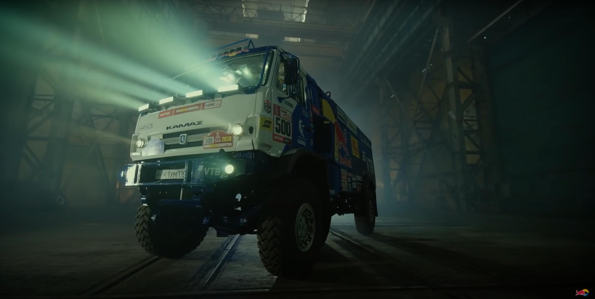 Kamaz Dakar Race Truck
