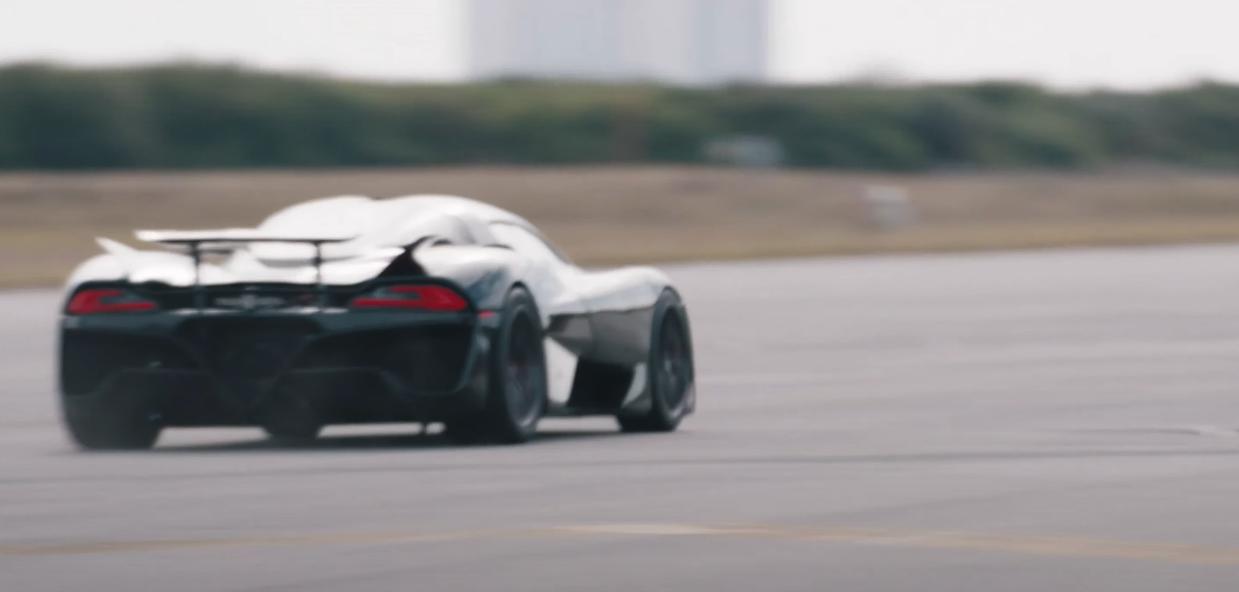 SSC Tuatara sets new production car speed record