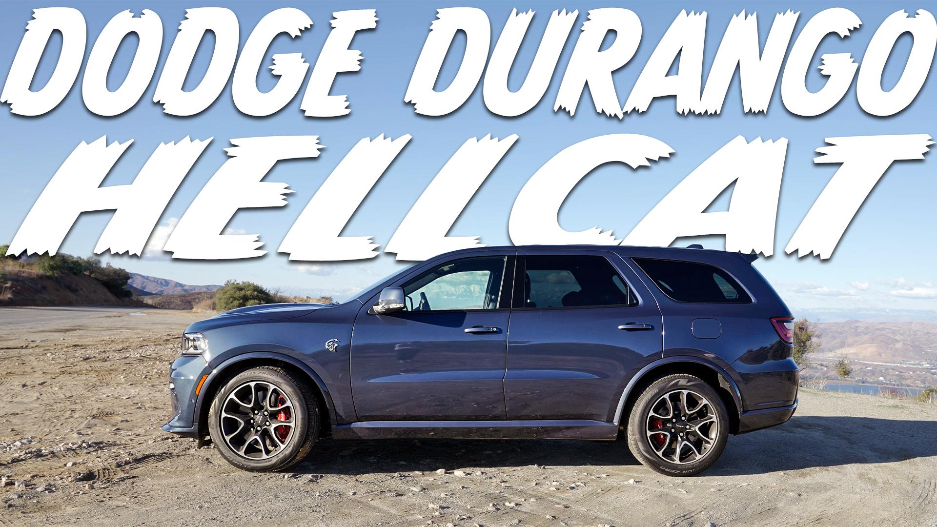 Dodge Durango Hellcat parked