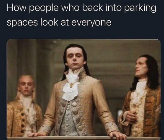 fancy parking meme