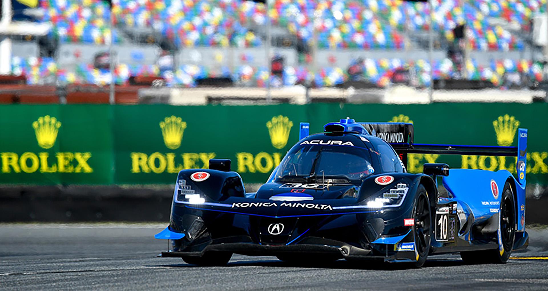 The Wayne Taylor Racing Acura wins at Daytona