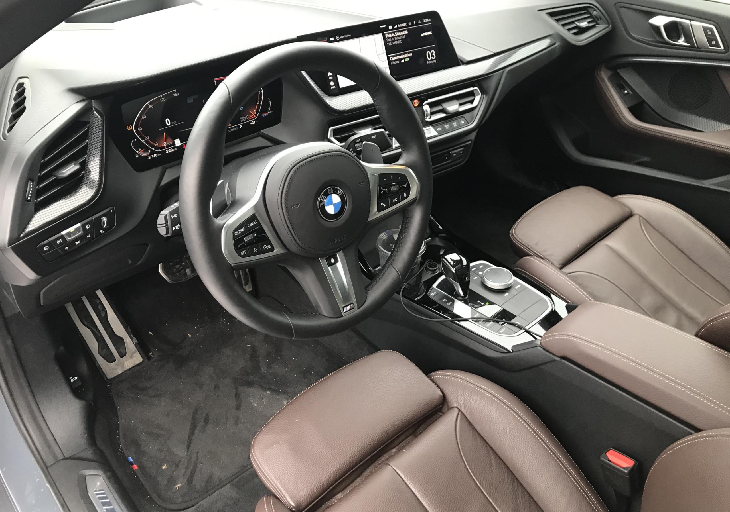 2021 bmw 220i gran coupe dash