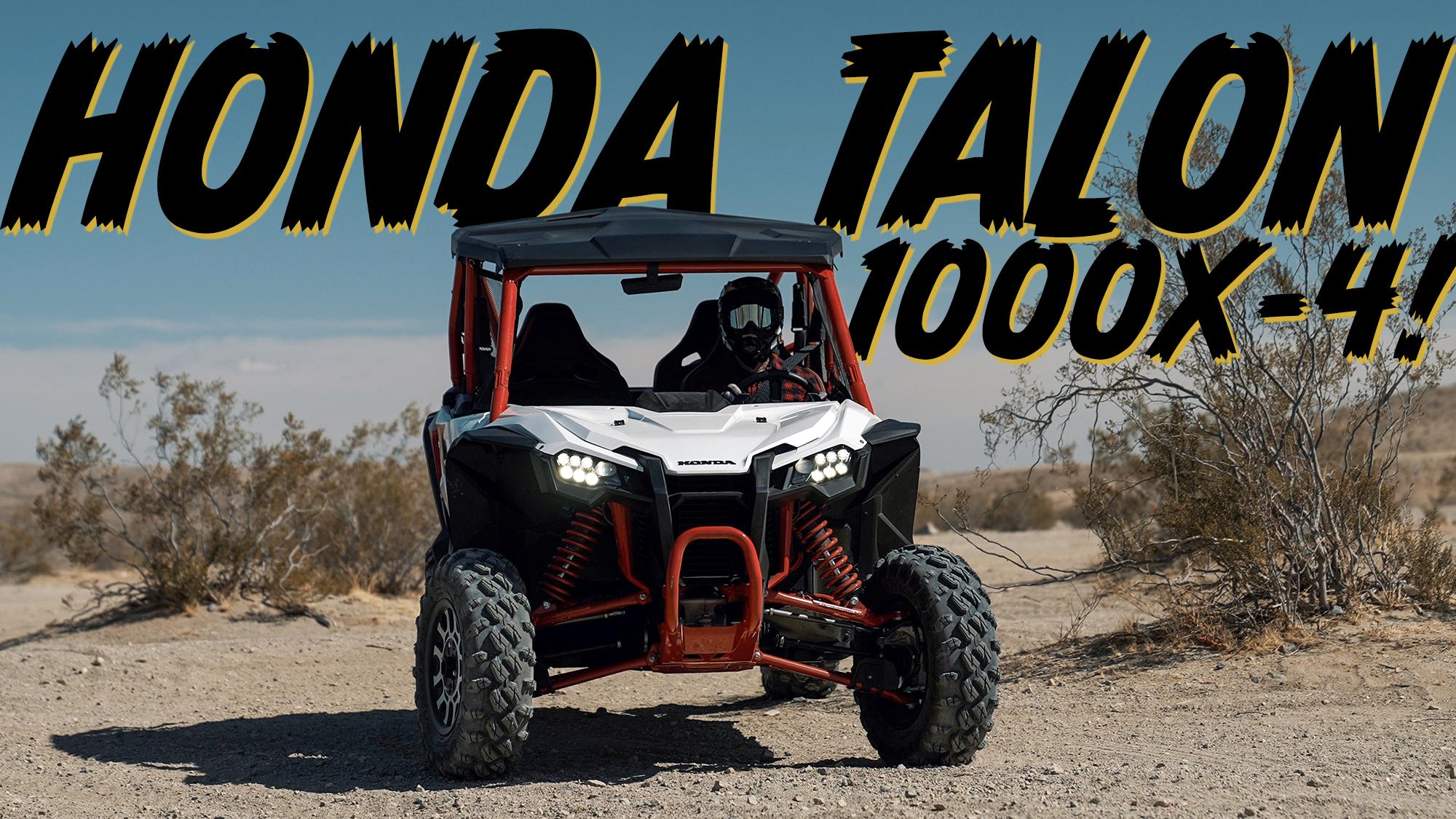 Honda Talon 1000x-4 off-road