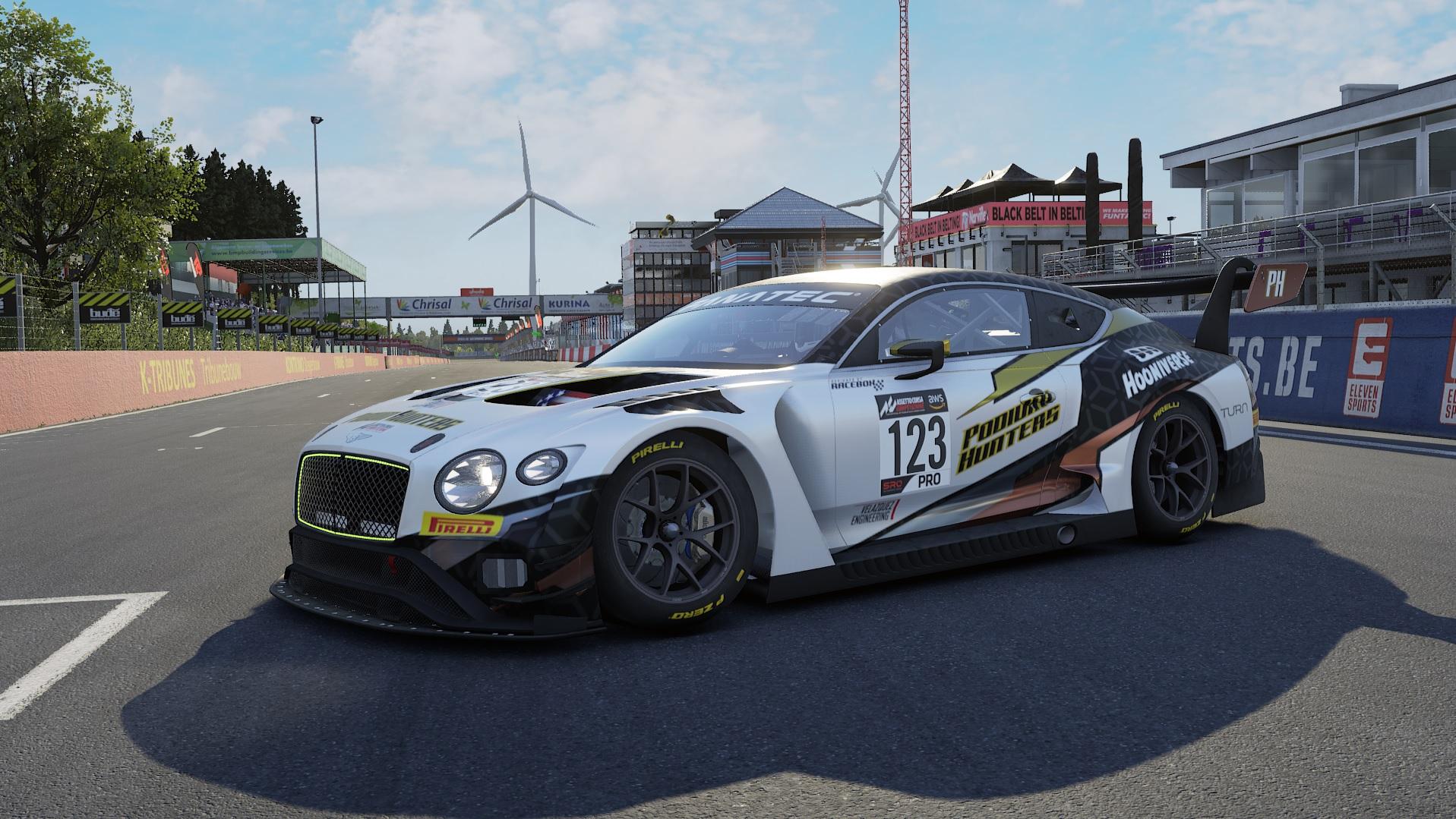 Assetto Corsa Competizione Bentley GT3 Evo Podium Hunters