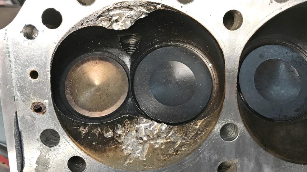 hot rod c10 engine damage