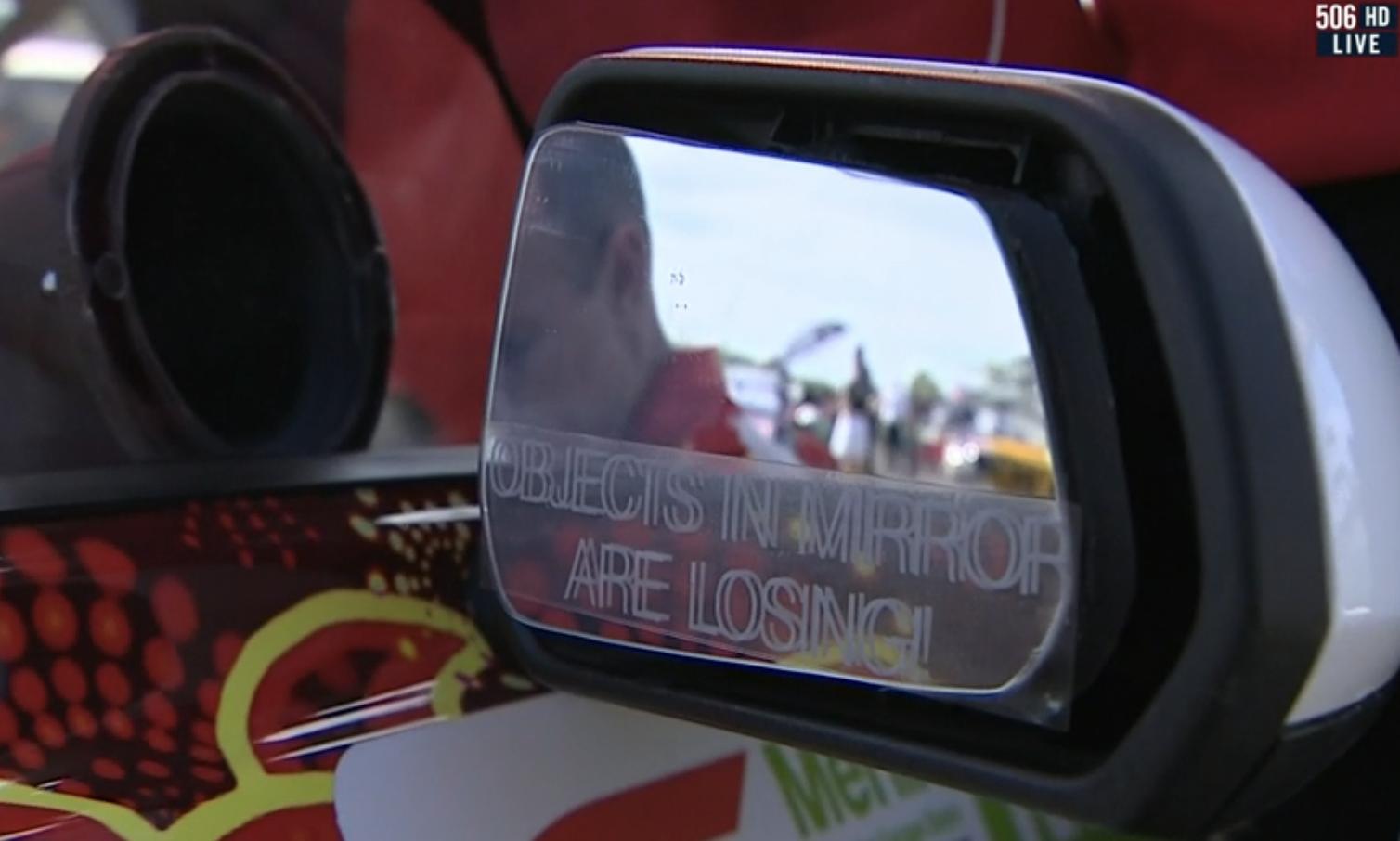 DJR Mirror sticker